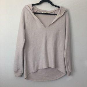 Cream Hooded Sweater